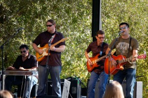 Performing with Country Artist PETE [stringfellow]